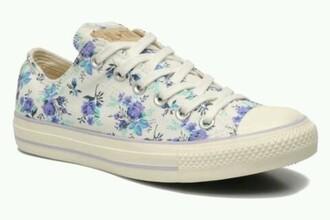 shoes converse shoes converse floral shoes