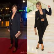 pants,smoking,crop tops,blazer,look,lookbook