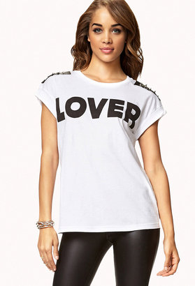 FOREVER 21 Spiked Lover Tee at ShopStyle