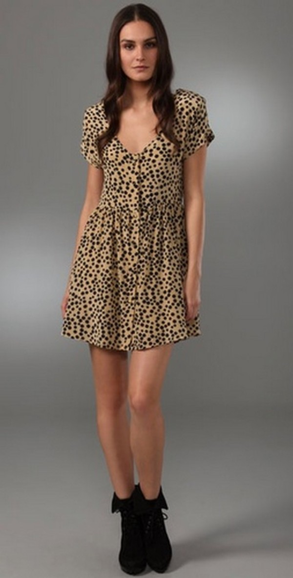 Silk Leopard Dress forecasting