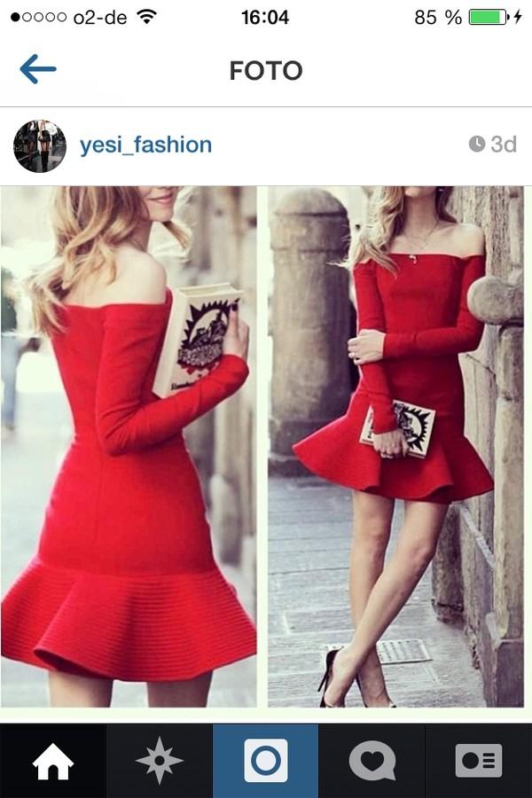dress red dress red prom dress