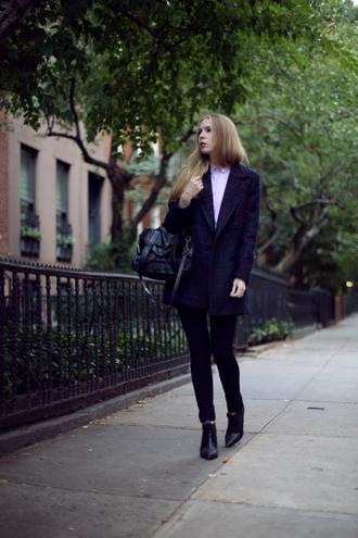 coat shirt jeans bag shoes