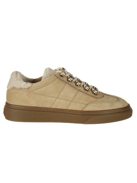 Hogan sneakers beige shoes