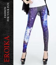 Galaxy Leggings - blauer Sternenhimmel Galaxie Druck Himmel S/M, L/XL - EL3147 | eBay