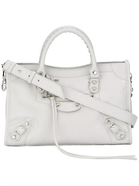 Balenciaga Classic City bag, Women's, Grey, Goat Skin