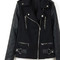 Wool hybrid biker jacket – dream closet couture