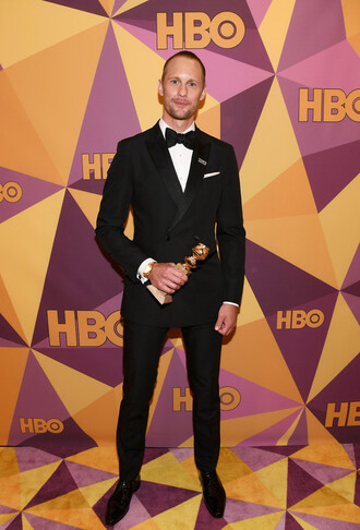 jacket alexander skarsgard menswear mens shirt mens suit mens pants golden globes 2018