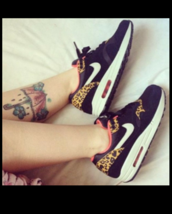shoes leopard print nike