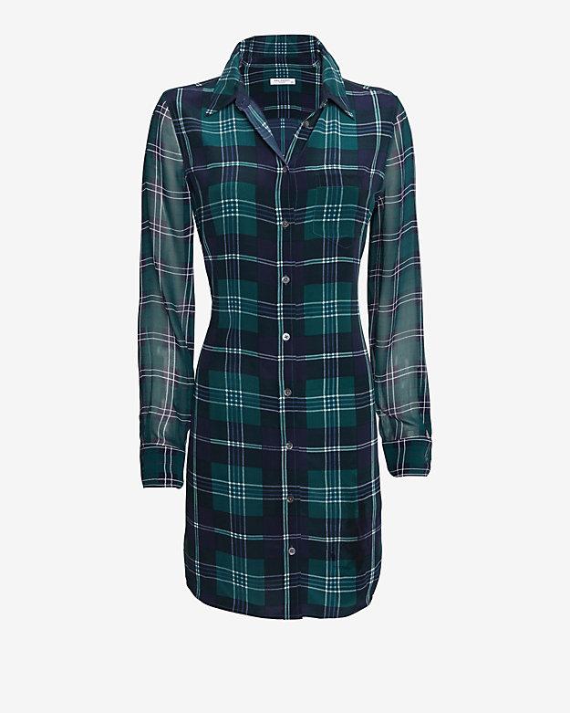 Equipment EXCLUSIVE Brett Plaid Pattern Dress | Shop IntermixOnline.com