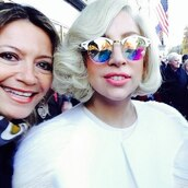 sunglasses,glasses,lady gaga,crystal,prism