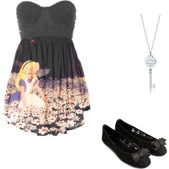 dress alice in wonderland pretty