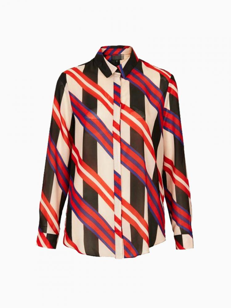 New Look Multicolour Stripe Shirt | Choies