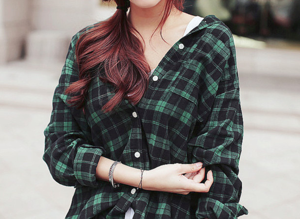 Shirt green and black forest green flannel shirt for Green and black plaid flannel shirt