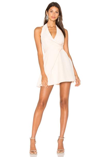 Keepsake dress mini dress mini blush