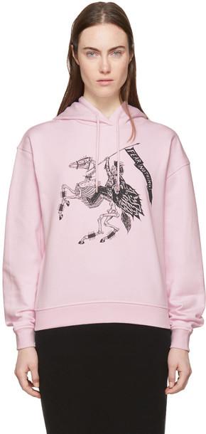 McQ Alexander McQueen hoodie pink sweater