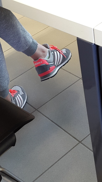 shoes adidas shoes trainers grey pink