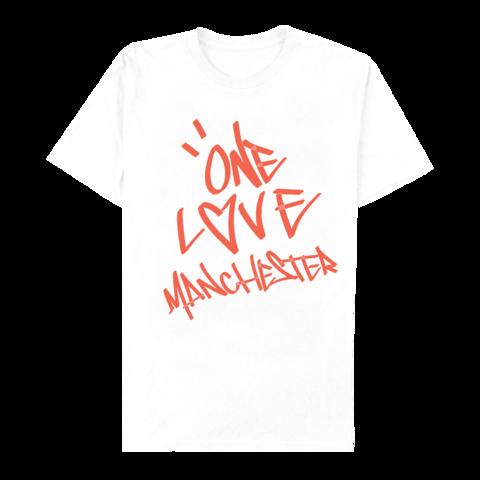 Graffiti One Love MCR Crew Neck Sweatshirt - White