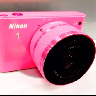 camera pink nikon technology