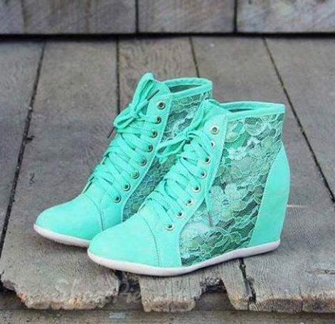 Candy Color Comfortable Height Increasing Casual Shoes