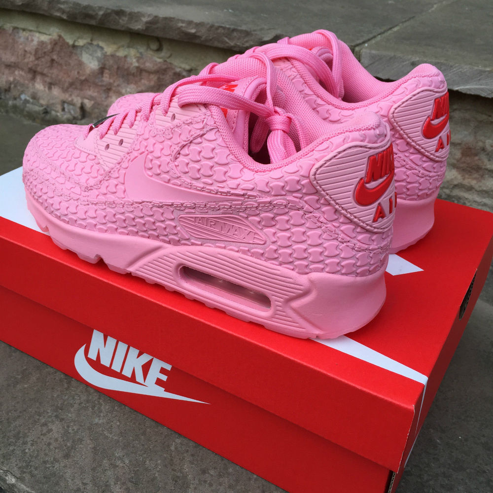 buy popular 7ae79 ba9eb NEW WOMENS NIKE AIR MAX 90 CITY COLLECTION SHANGHAI PINK DESERT SPACE  813152-600