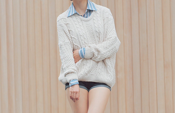 cute sweaters warm sweater comfy creme knitted sweater knitted sweater oversized sweater