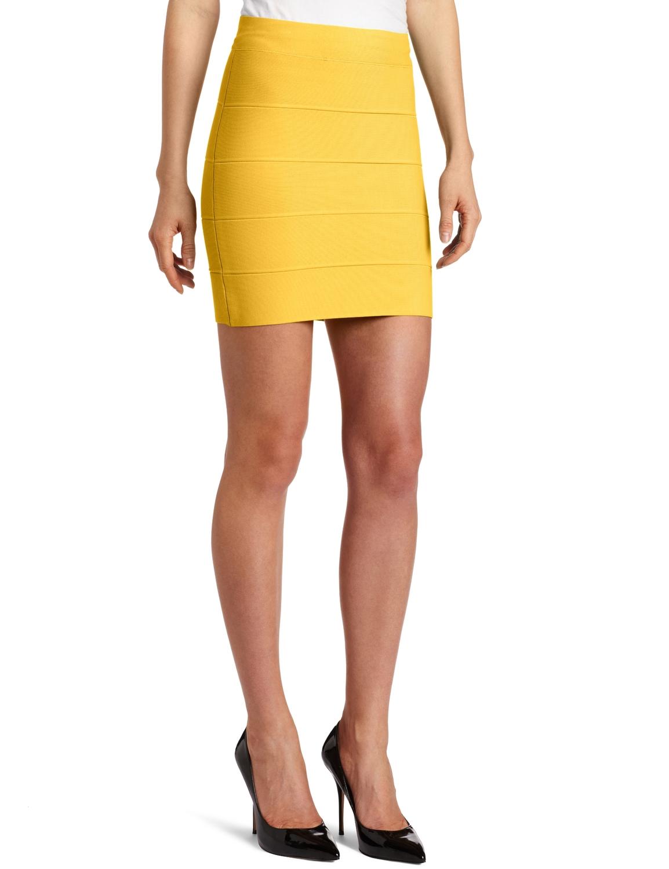d11ff2c10 BCBGMAXAZRIA Women's Simone Bandage Skirt at Amazon Women's Clothing store:  Bcbg