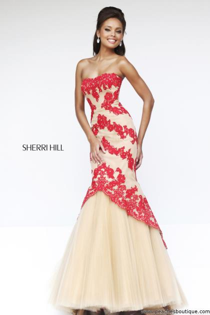 Sherri Hill Homecoming Dress 21270 at Peaches Boutique
