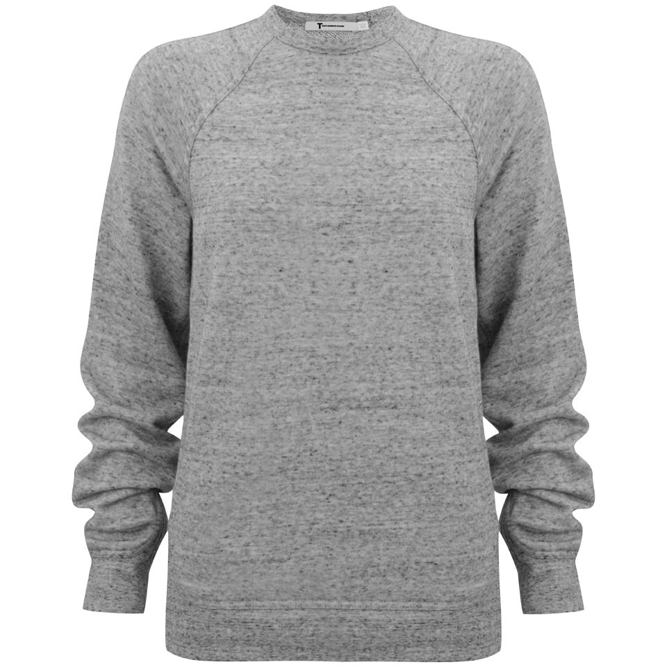 by Alexander Wang Women's Crew Neck Sweatshirt - Grey Womens ...