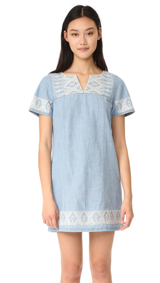 tunic embroidered spring top