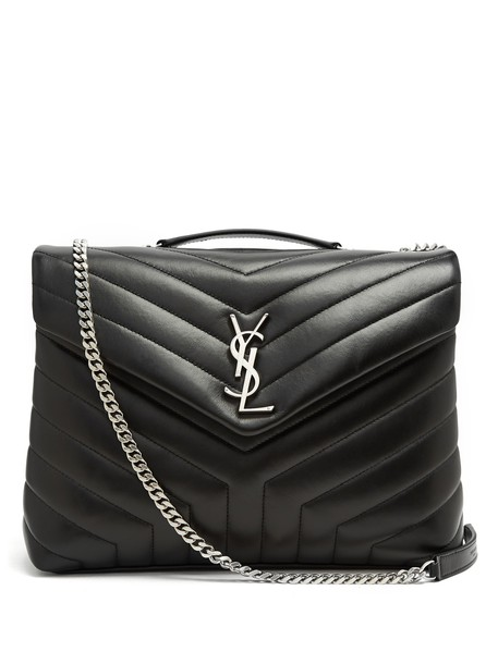 Saint Laurent quilted bag shoulder bag leather black