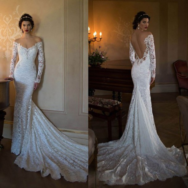 Lace Wedding Dress Mermaid