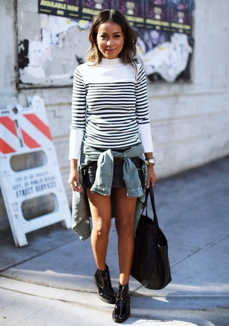 sincerely jules blogger sweater top skirt shoes shirt
