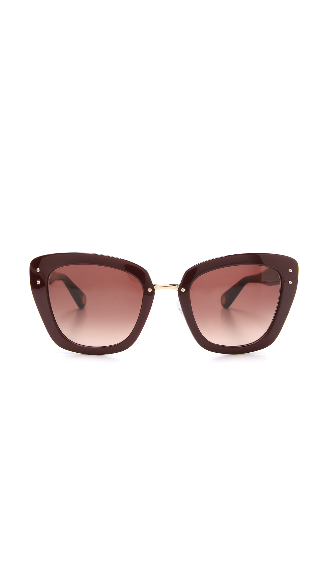 Marc Jacobs Sunglasses Thick Frame Sunglasses SHOPBOP