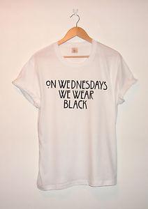 American Horror Story : Coven Inspired 'On Wednesdays We Wear Black' T-shirt | eBay