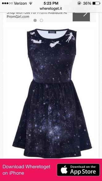 dress galaxy print