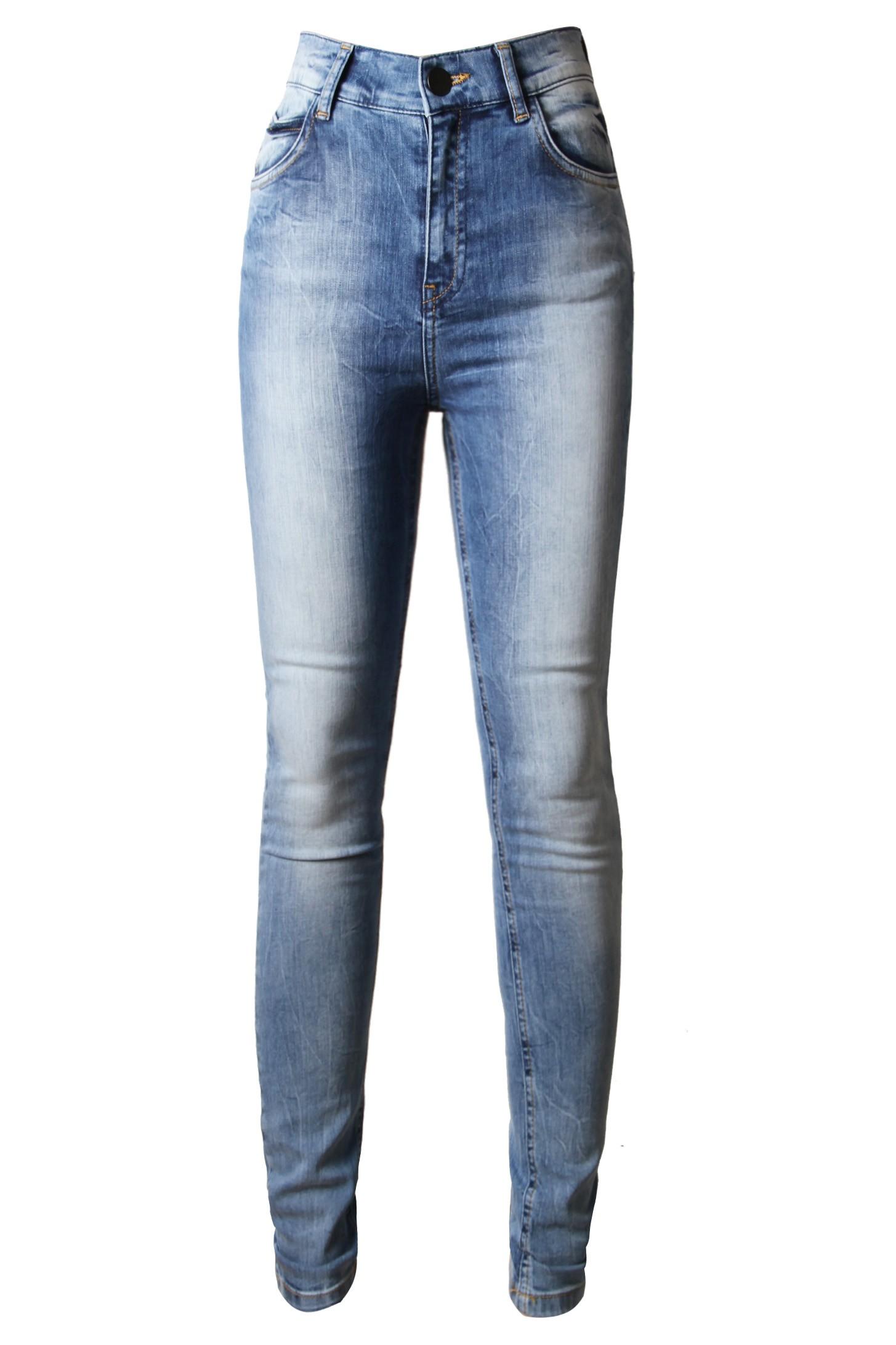 High Waisted Skinny Jeans - Styligion.com