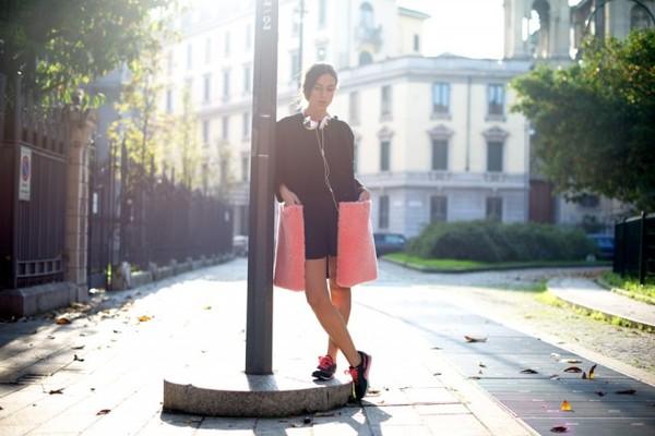 my free choice coat t-shirt skirt shoes