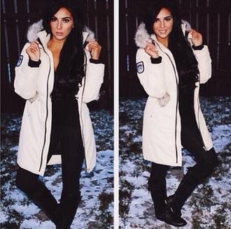 jacket winter jacket winter outfits cold colors fur fur jacket long jacket white jacket parka faux