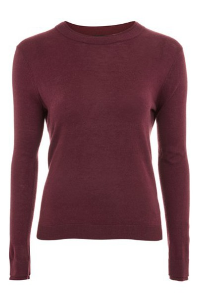 Topshop jumper red sweater
