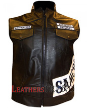 jacket,sons of anarchy leather vest,charlie hunnam,sons of anarchy,leather,vest