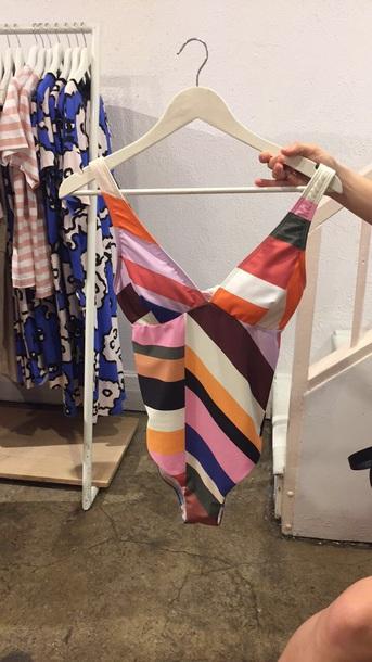 swimwear stripes Australian brands melbourne