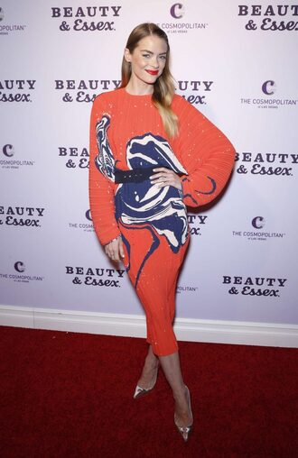 dress pumps jaime king belt orange dress red carpet dress party dress
