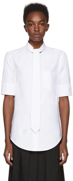 Thom Browne shirt white top