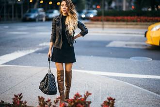 not jess fashion blogger bag jacket