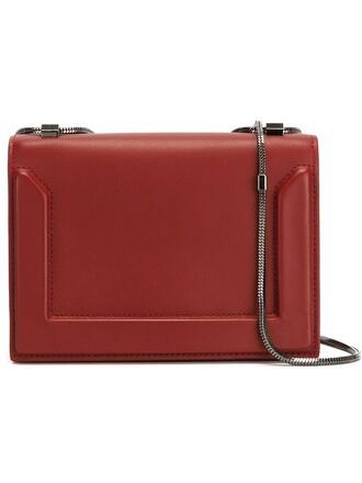 mini bag shoulder bag red