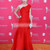 Ruched One Shoulder Sleeveless Red A-line Celebrity Dress - Promdresshouse.com