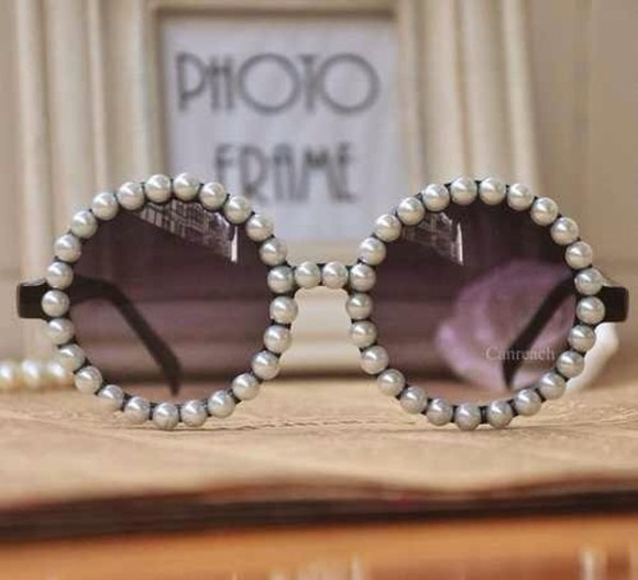 pearls sunglasses
