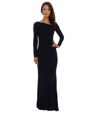dress black dress the bachelorette whitney bachelor formal dress long sleeves