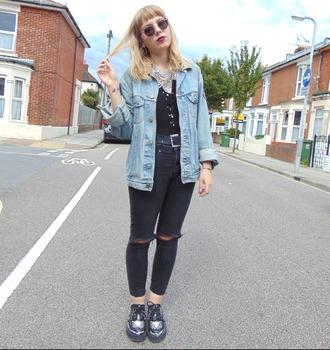 the velvet black grunge blogger jewels