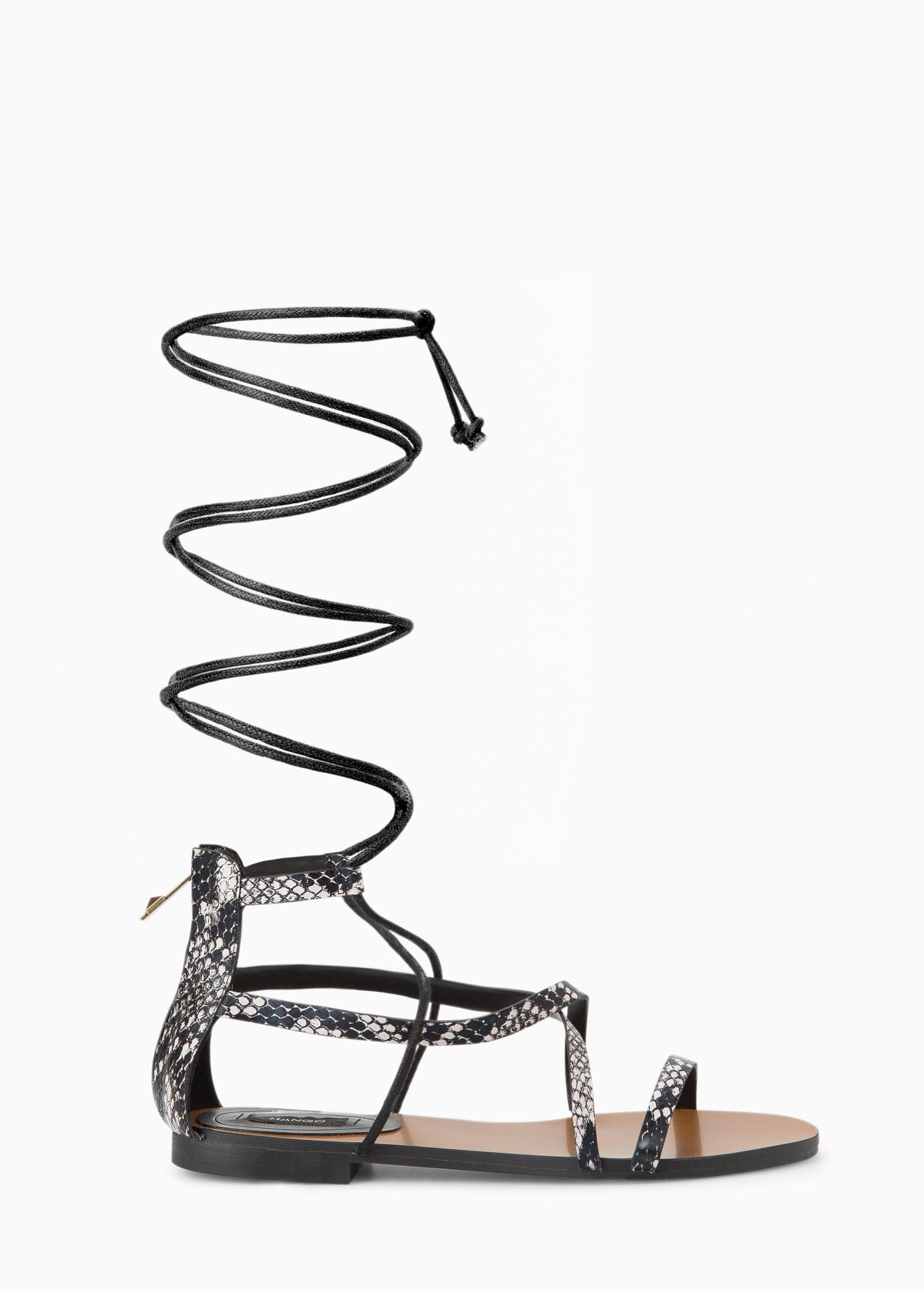 e9ff5548895 Strap cord sandals - Women   MANGO